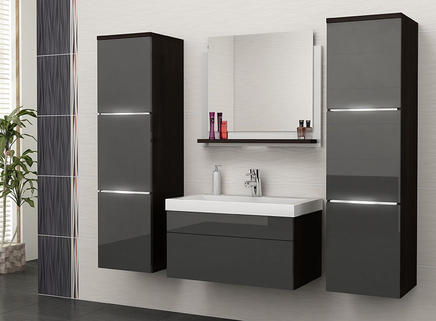 Lastest Fitted Bathroom Furniture  TWThomas
